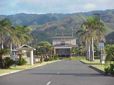 BYU-Hawai'i front entrance